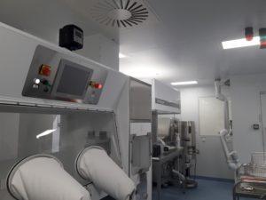 isolateur pharma