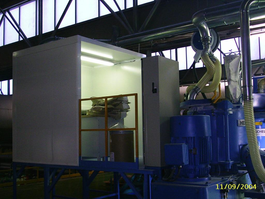 cabine de pesage